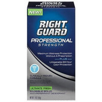 Right Guard Professional Strength Anti-Perspirant Deodorant Invisible Solid, Ultimate Fresh, 1.8-Ounce Bottles (Pack of 3)