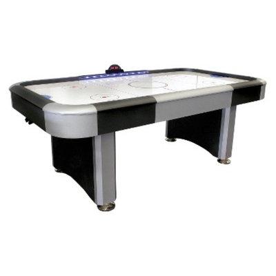 DMI Sports Air Hockey Table Lighted Rail - Black/Silver (7 ft)