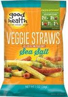 Good Health VEGGIE STRAWS, (Pack of 24)