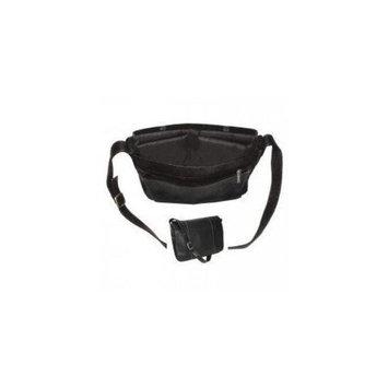 Royce Leather VLMB-BLK Vaquetta 13 Inch Laptop Messenger Bag, Black