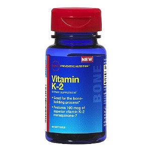 GNC Preventive Nutrition Vitamin K-2