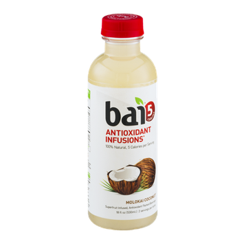 Bai 5 Antioxidant Infusions Beverage Molokai Coconut