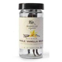Rodelle Organics Madagascar Vanilla Beans, 2 Count (Pack of 6)
