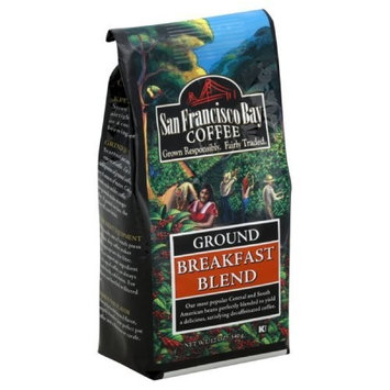 San Francisco Bay Coffee Ground, Breakfast Blend, 12 Ounce