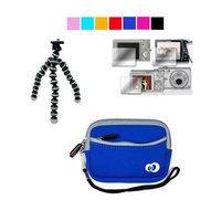 VangoddyTM Mini Glove Camera Case for Canon PowerShot A495 A490 A3100IS A480 + Screen Protector + Tripod