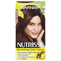 Garnier Nutrisse Hair Color: 525 Rich Mahogany Brown