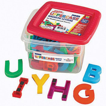 Educational Insights Jumbo Uppercase AlphaMagnets - Multicolored - 1 ct.