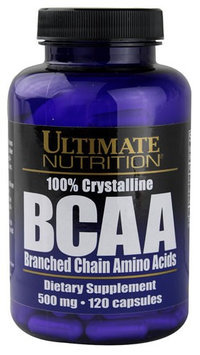 Ultimate Nutrition 100% Crystalline BCAA 500 mg - 120 Capsules