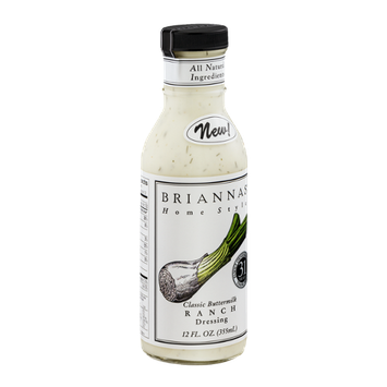 Brianna's Home Style Dressing Classic Buttermilk Ranch