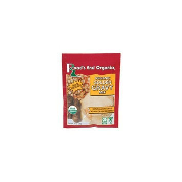 Road's End Organics Gluten Free Golden Gravy Mix, Organic, 1-Ounce Pouches (Pack of 12) ( Value Bulk Multi-pack)