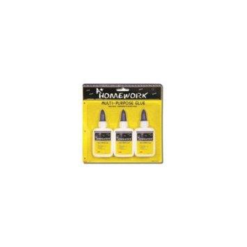 DDI White School Glue - 3 Pack