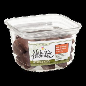 Nature's Promise Milk Chocolate Peanut Butter Crisps