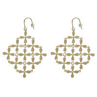 Sugar Bean Jewelry Gold Plated Cher Earrings