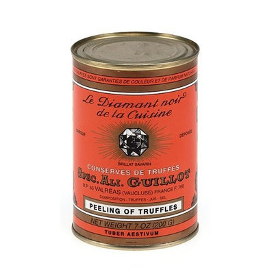 Guillot French Black Summer Truffle, Peeling - 7 oz