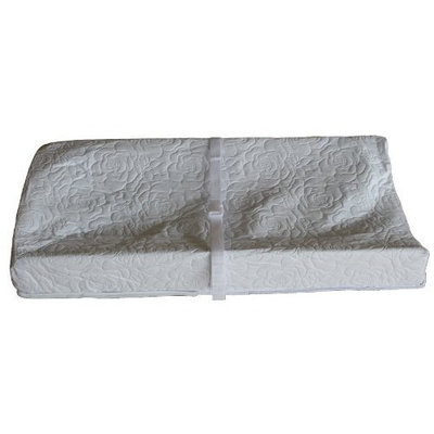 Colgate Mattress 3 Sided Contour Changing Pad, Quilted White