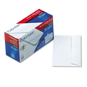Columbian Grip-Seal Security Tint Business Envelopes -Side Seam - #6