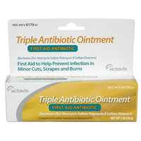 First Aid Triple Antibiotic Ointment By Alpharma - 1 Oz (2 Pack)