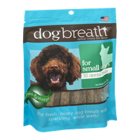 Dog Breath Dental Treats for Small Dogs - 30 CT