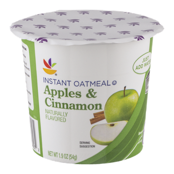 Ahold Instant Oatmeal Apples & Cinnamon
