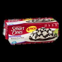 Weight Watchers Smart Ones Smart Delights Brownie A La Mode - 4 CT