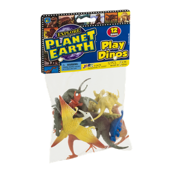 Ja-Ru Planet Earth Play Dinos - 12 CT