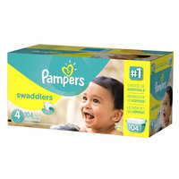 Pampers Swaddlers Diaper Size 4 Giant Pack
