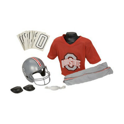 Franklin Sports Ohio State Football Deluxe Uniform Set - Medium