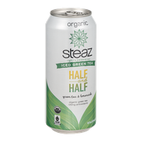 Steaz Iced Green Tea Half and Half