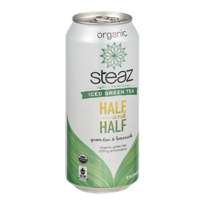 Steaz Iced Green Tea Half and Half