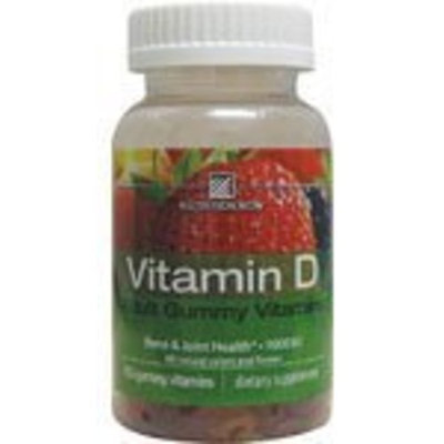 Nutrition Now Vitamin D Adult Gummy Vitamin 1000 Iu 150 Ct