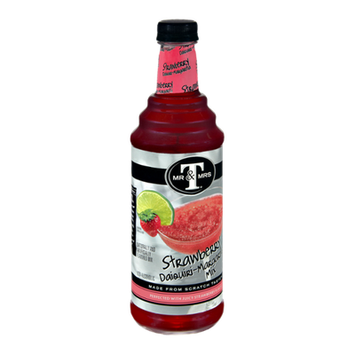 Mr. & Mrs. T Non-Alcoholic Strawberry Daiquiri-Margarita Mix