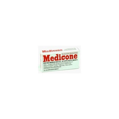 Rectal Medicone Suppositories-- 24