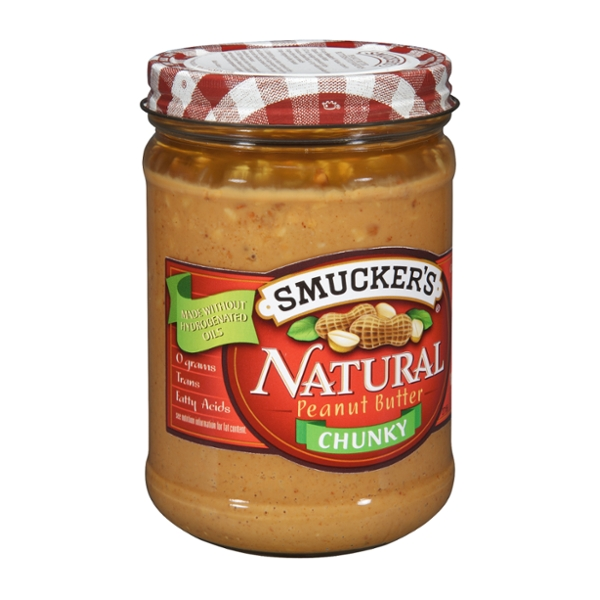 Smucker's Natural Chunky Peanut Butter