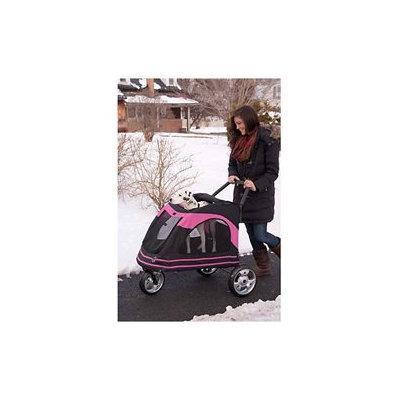 Bibi & Mimi Pet Gear Roadster Pet Stroller in Black / Blue