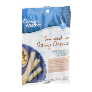 Weight Watchers String Cheese Smoked - 12 CT