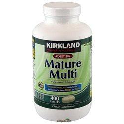 Kirkland Signature Mature Adults 50+ Multi
