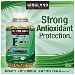 Kirkland SignatureTM Vitamin E 400 IU 500 Softgels