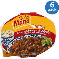 Dona Maria Platillos Meatball Stew with Chipotle