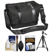 Vanguard Vojo 28 Digital SLR Camera Shoulder Bag (Black) with Tripod + Cleaning Kit