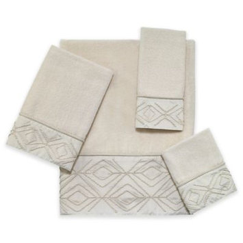 Horchow Audrey Hand Towel, Ivory