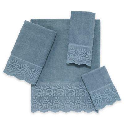 Avanti Carly Face Cloth, Mineral