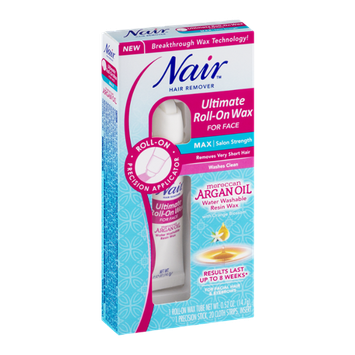 Nair Hair Remover Ultimate Roll-On Wax for Face