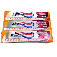 Aquafresh Extreme Clean Toothpaste Revitalizing Action, 5.6 oz (Pack of 3)