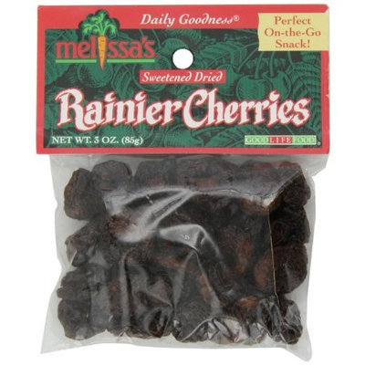 Melissa's Dried Bing Cherries, 3-Ounce Bags (Pack of 12)
