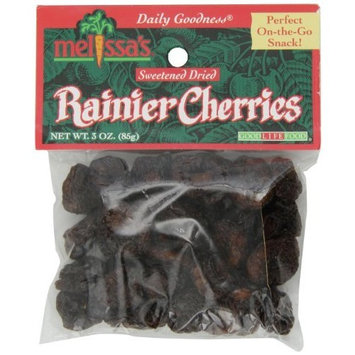 Melissa's Dried Bing Cherries, 3-Ounce Bags (Pack of 12)