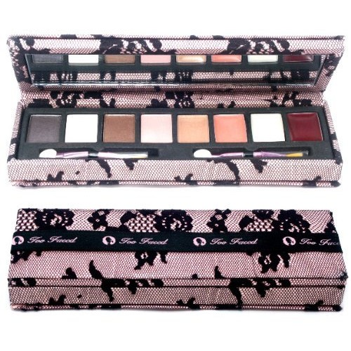 Too Faced - Lace Case Lip Gloss & Eye Shadow Palette