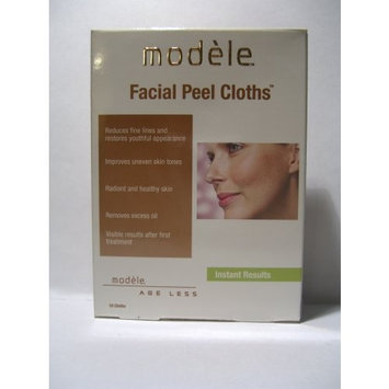 Natural Science Inc. Modele Facial Peel Cloths, 10 cloths