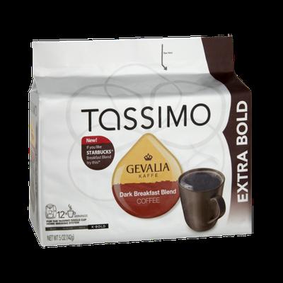 Tassimo Gevalia Kaffe Extra Bold Dark Breakfast Blend Coffee