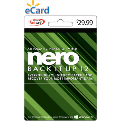 Nero BackItUp 12 $29.99 eGift Card (Email Delivery)