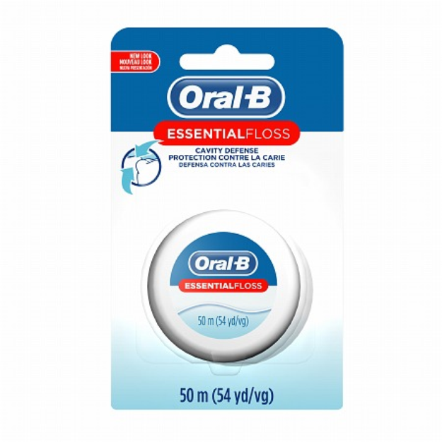 Oral-B Essential Floss Waxed Dental Floss